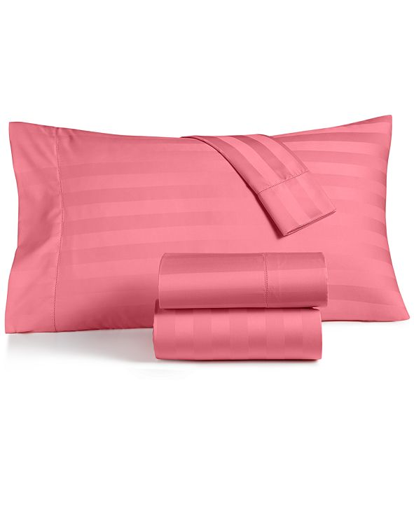 Charter Club  CLOSEOUT! Stripe Sheet Sets, 550 Thread Count 100% Supima Cotton, Created for Macy's