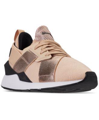 puma muse metal sneakers