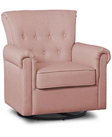 Delta Children Harper Nursery Glider Swivel Rocker Chair