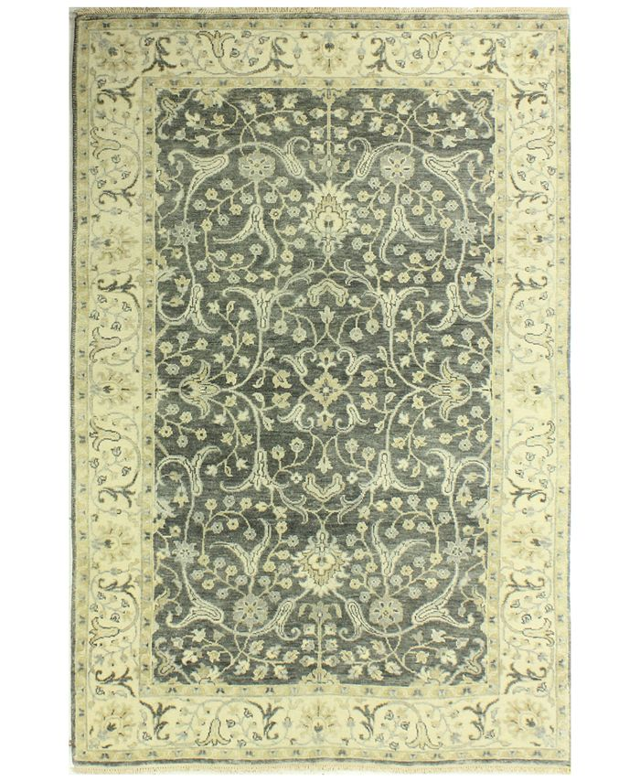 "BB Rugs - Heirloom HR112 Gray 5'9"" x 8'9"" Area Rug"