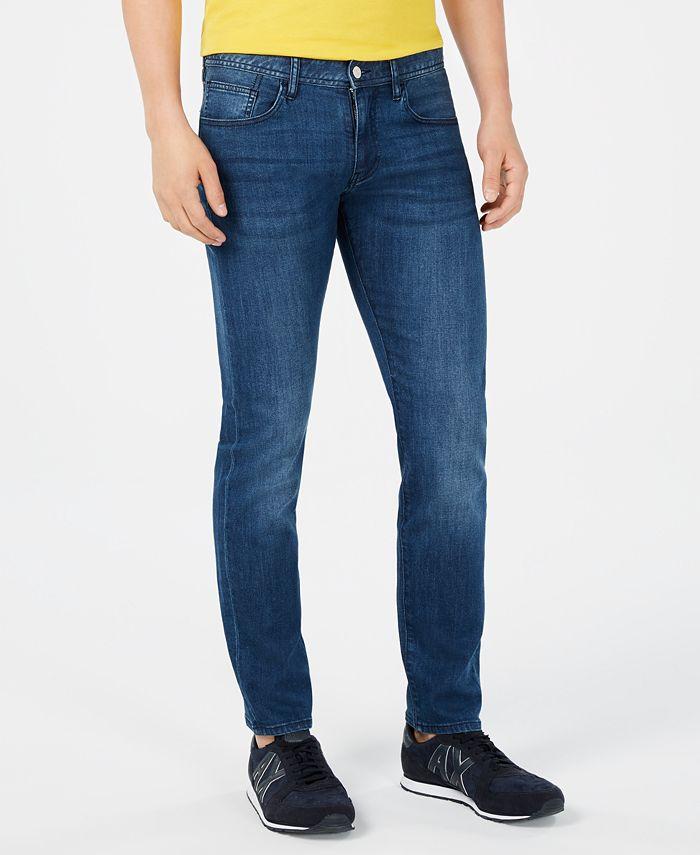 A X Armani Exchange - Men's Slim-Fit Stretch Jeans
