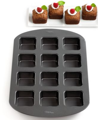 Wilton Square Brownie Bar Pan, 12 Cavity