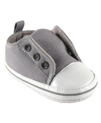 Luvable Friends Laceless Sneakers, Gray