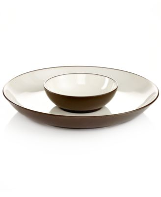 Noritake Dinnerware, Colorwave Chocolate Chip and Dip