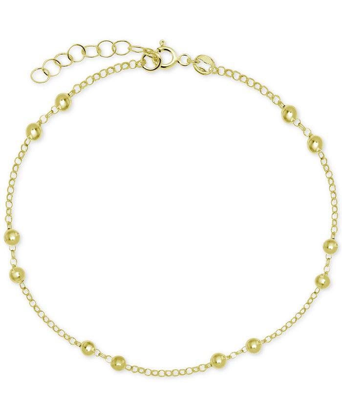 Giani Bernini - Polished Bead Ankle Bracelet