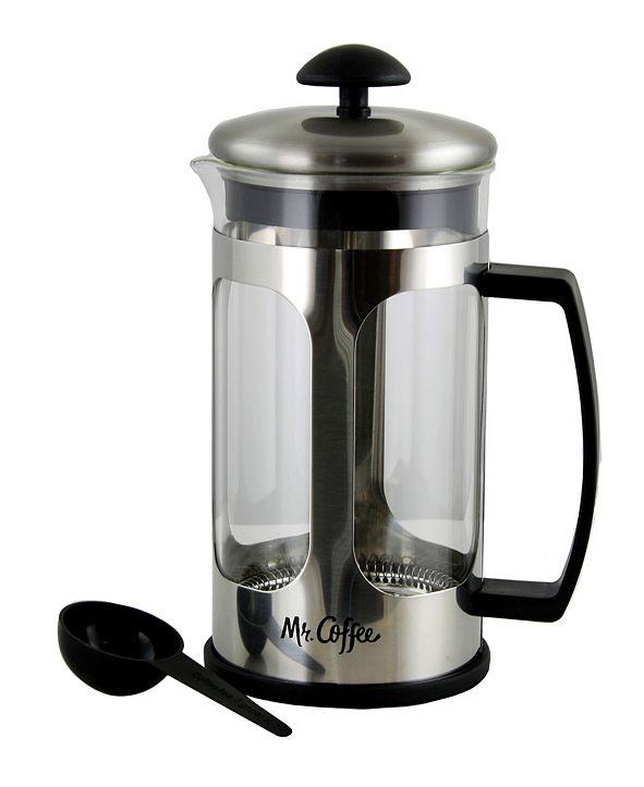 Mr. Coffee Daily Brew 1.2 Quart Coffee Press