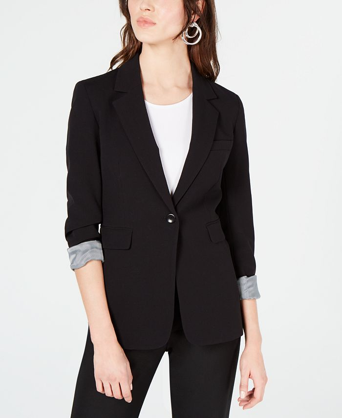 Bar III - One-Button Jacket