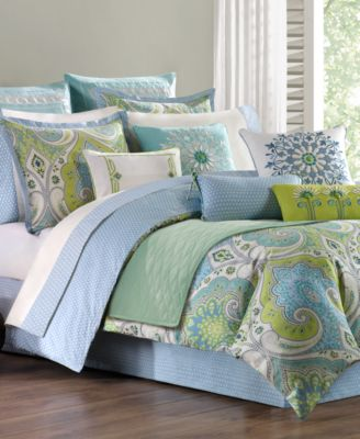 Echo Bedding Sardinia Comforter and Duvet Cover Sets Bedding