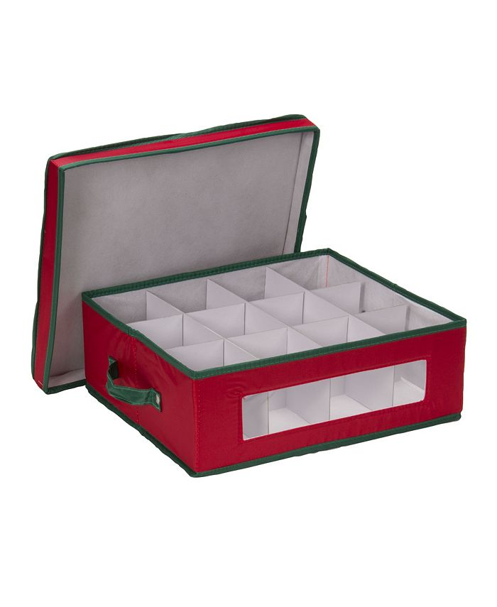 Household Essentials - Holiday China Cup Storage Box
