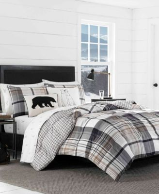 Normandy Plaid Comforter Set, Full/Queen