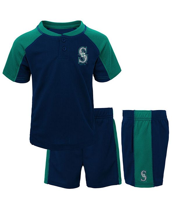 Outerstuff Toddlers Seattle Mariners Play Strong Short Set