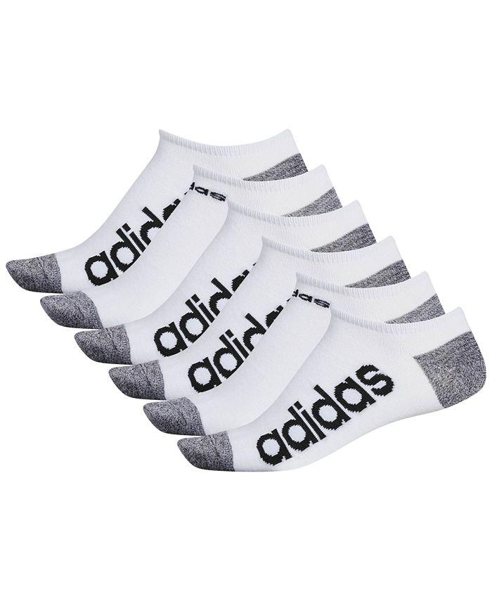 adidas - Men's 6-Pk. Superlite No-Show Socks