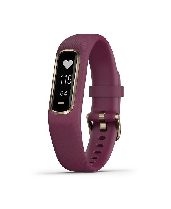 Garmin vívosmart 4 Activity Tracker in Berry and Gold, S/M