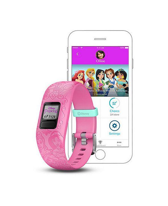 Garmin vívofit jr. 2 Disney Princess Kids Activity Tracker in Pink