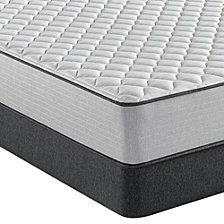 "Beautyrest BR800 11.25"" Firm Mattress Set - Full"