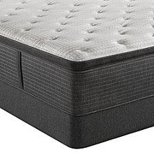 """Beautyrest Silver BRS900-C-TSS 16.5"""" Medium Firm Pillow Top Mattress Set - King, Created for Macy's"""