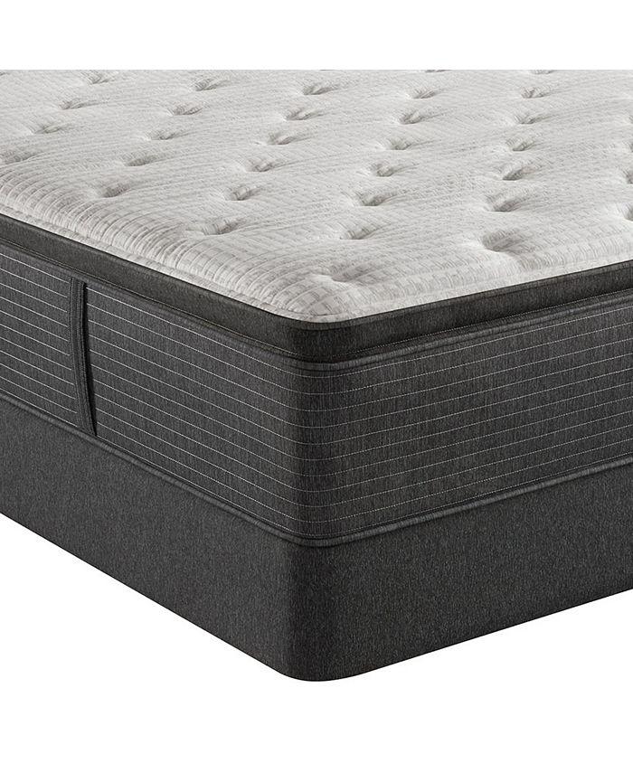 """Beautyrest - Level 2 16.5"""" Luxury Firm Pillow Top Mattress Set - King"""