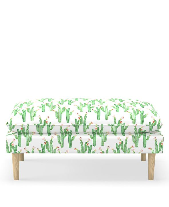 Martha Stewart Collection Whim Collection Franklin Pillowtop Bench