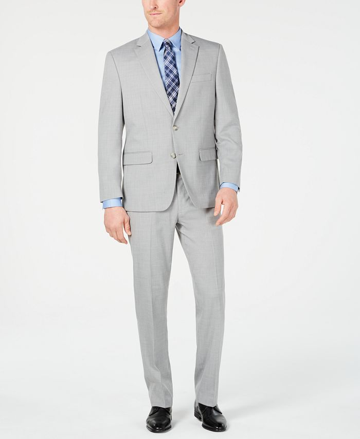 Club Room - Men's Classic-Fit Stretch Twill Suit