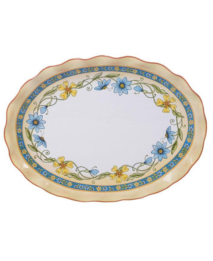 Certified International - Torino Oval Platter