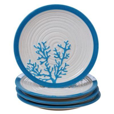 Natural Dinner Plates, Set of 4