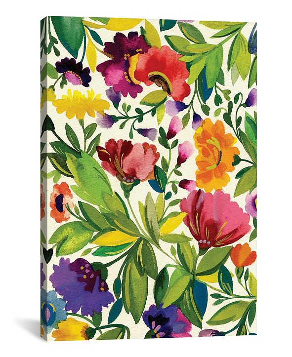 "iCanvas ""September Bouquet"" By Kim Parker Gallery-Wrapped Canvas Print - 18"" x 12"" x 0.75"""
