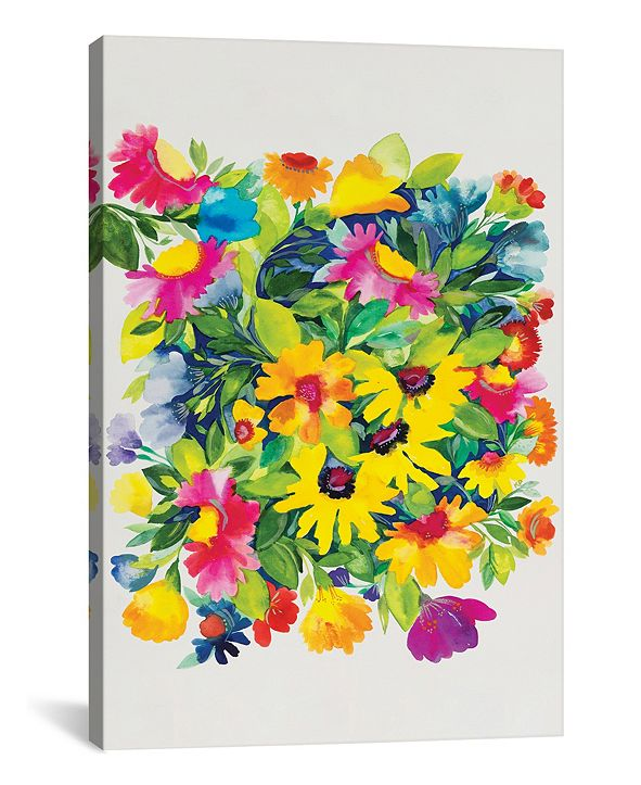 "iCanvas ""Late Summer'S Bouquet"" By Kim Parker Gallery-Wrapped Canvas Print - 40"" x 26"" x 0.75"""