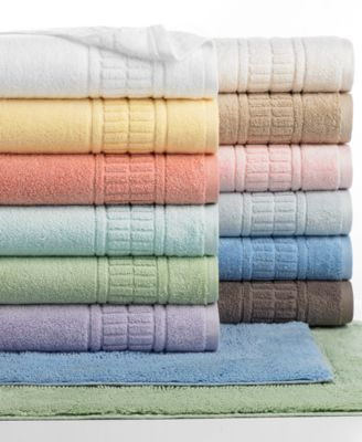 "Image of Martha Stewart Collection Plush Bath Towel, 30"" x 54"""