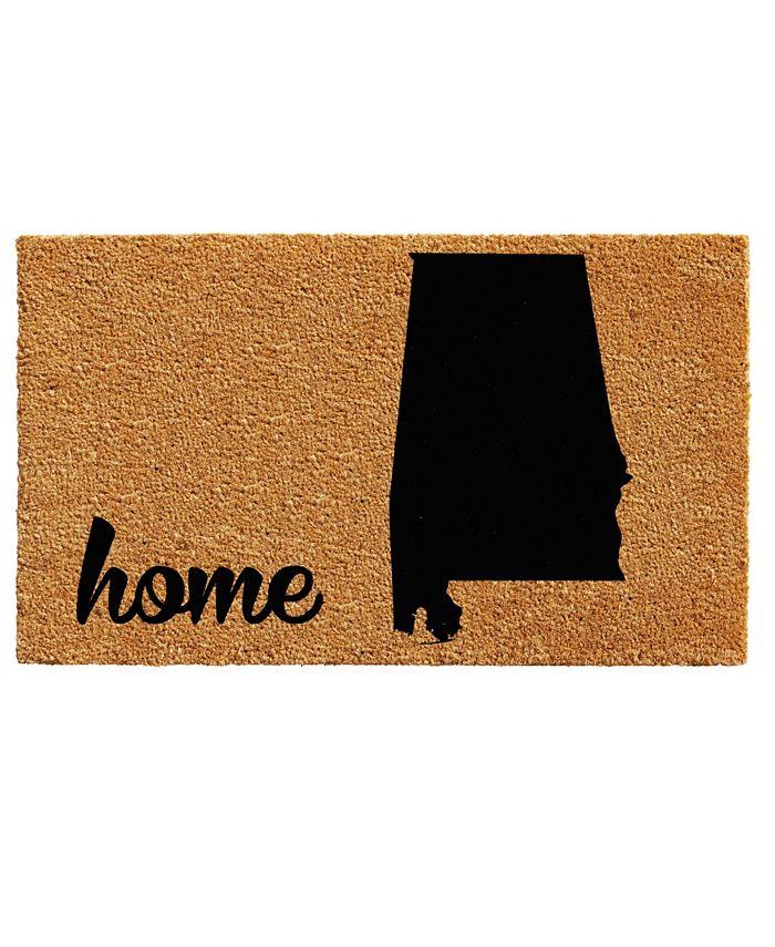 """Home & More - Alabama 18"""" x 30"""" Coir/Vinyl Doormat"""