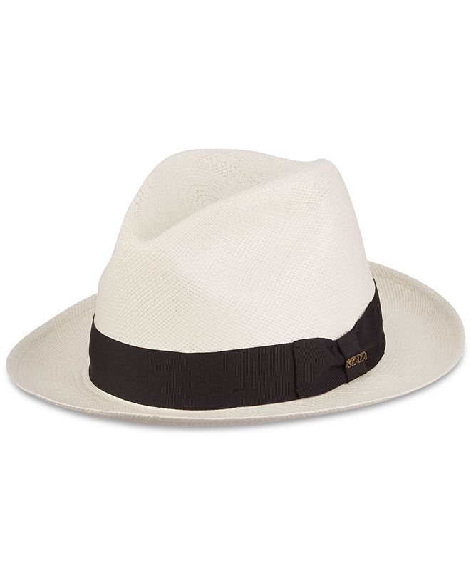 Scala Dorfman Pacific Men's Grade 3 Big-Brim Panama Hat