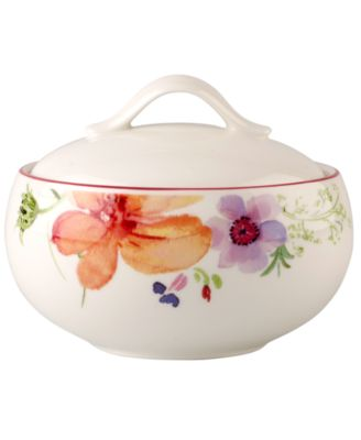 Villeroy & Boch Dinnerware, Mariefleur Covered Sugar Bowl