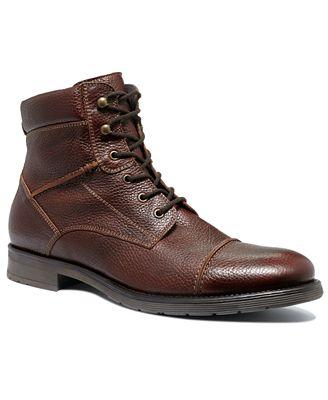 alfani cap toe lace boots shoes macy s