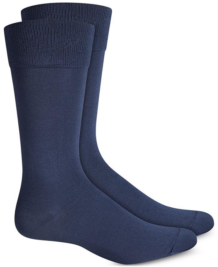 Perry Ellis Portfolio - Socks, Microluxe Flat Knit 2 Pack