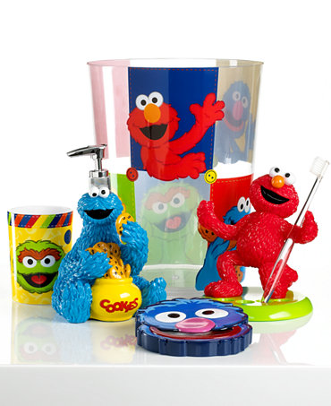 Sesame Street Bath Collection