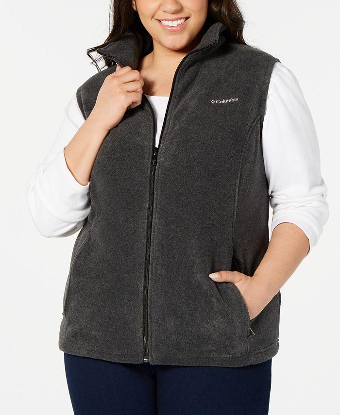 Columbia - Plus Size Benton Springs Fleece Vest