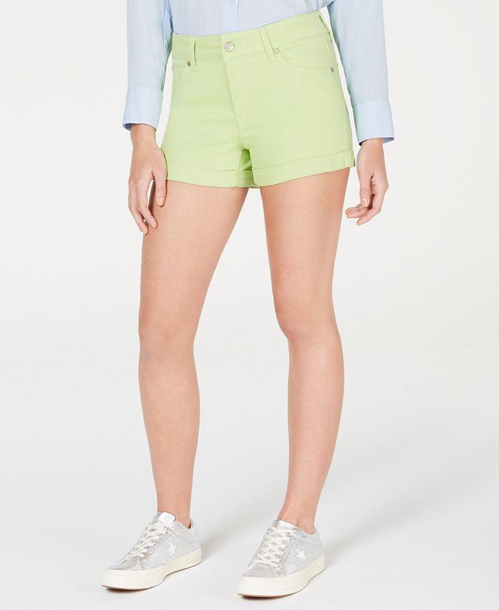 Celebrity Pink - Pink Juniors' Cuffed Denim Shorts
