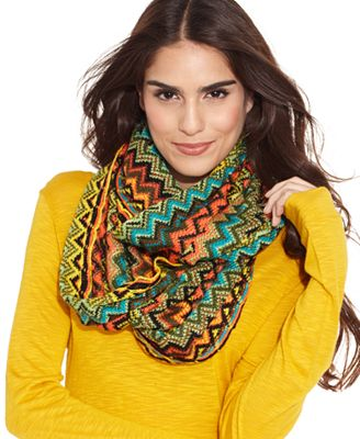 steve madden zig zag infinity scarf handbags