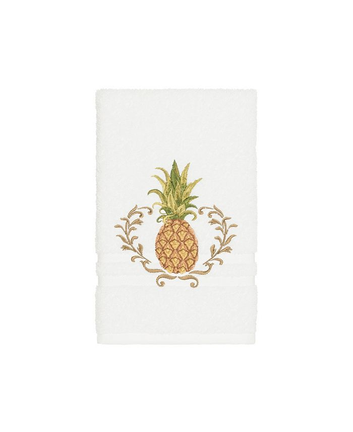 Linum Home - Turkish Cotton Welcome Embellished Hand Towel