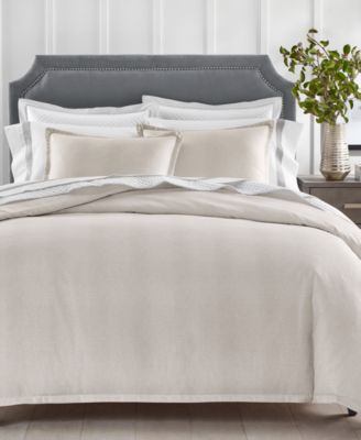 Sleep Luxe Printed Cotton 800 Thread Count 2 Pc. Duvet Cover Set, Twin, Created for Macy's