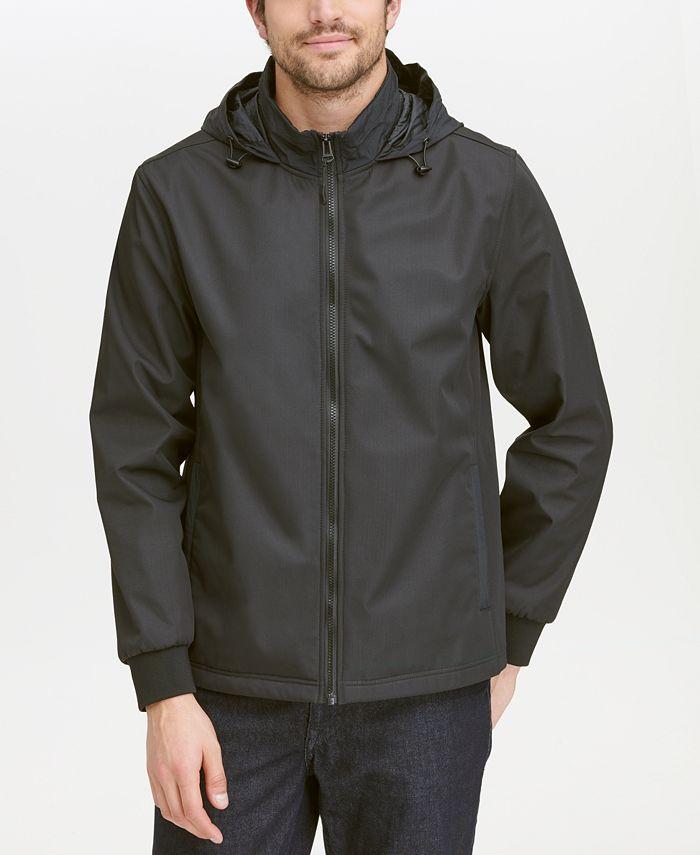 Cole Haan - Hooded Rain Jacket