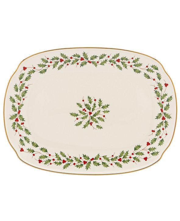Lenox Holiday Serving Platter