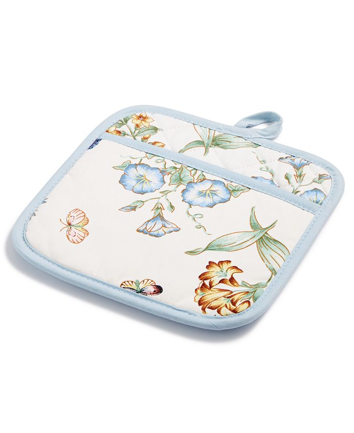 Lenox - Kitchen Linens, Butterfly Meadow Quilted Oven Mitt