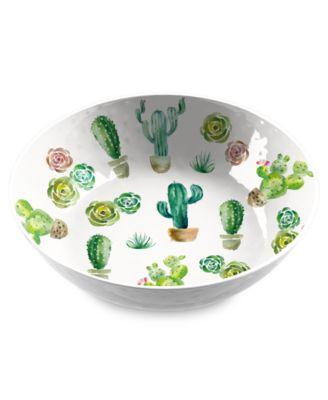 """Desert Garden Serve Bowl, 11.9"""" x 3.1"""",  135 oz., Melamine, Set of 1"""