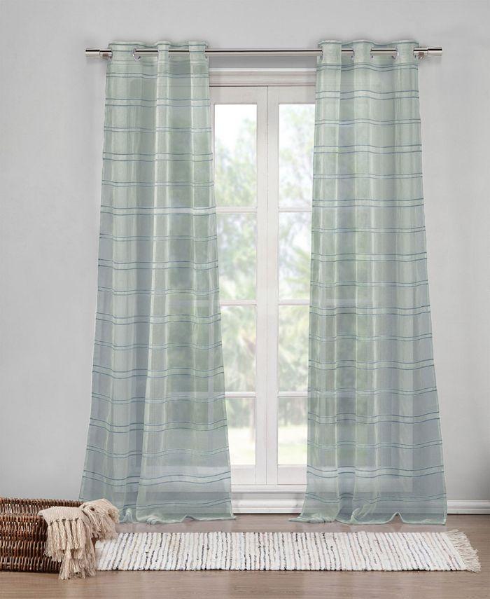 "Duck River Textile - Hampstead 40"" x 84"" Window Panel Pair"
