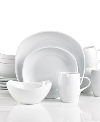 Dansk Dinnerware, Classic Fjord White 16 Piece Set, Service for 4