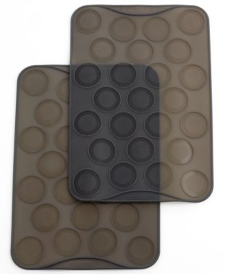 Mastrad Macaron Baking Sheets, Set of 2