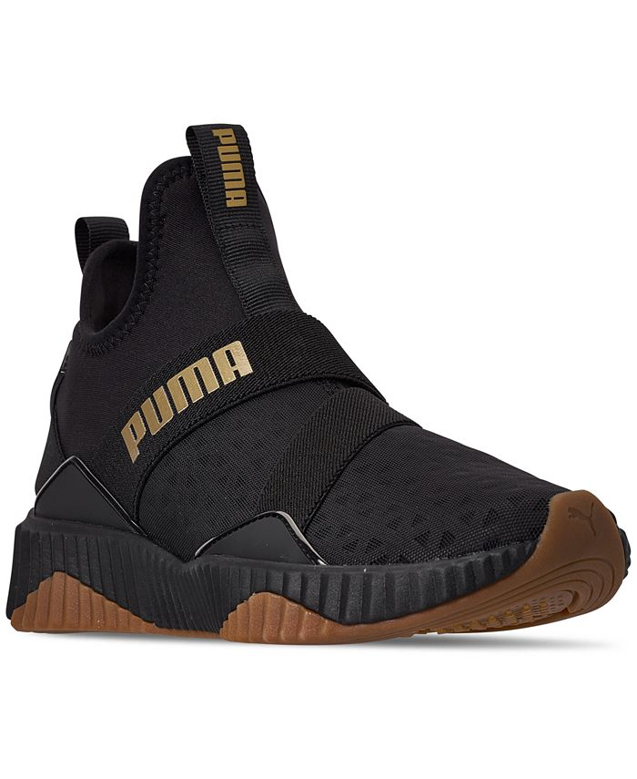 Puma - Women's Defy Mid Casual Sneakers from Finish Line