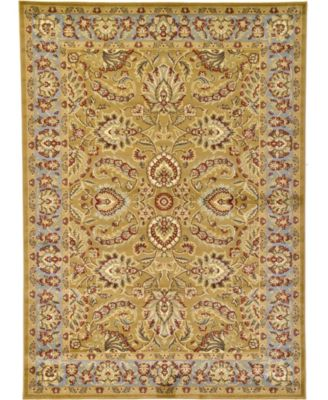 Passage Psg9 Dark Yellow 7' x 10' Area Rug