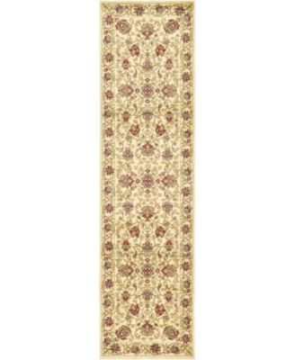 "Passage Psg6 Ivory 2' 7"" x 10' Runner Area Rug"