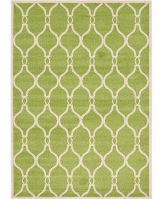 Arbor Arb6 Green 7' x 10' Area Rug